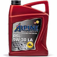 Alpine RSL 5W-30 LA (ACEA C3) синтетическое моторное масло, 4 л (0100309)