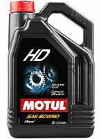 Motul HD SAE 80W-90 трансмиссионное масло, 5 л (317506)