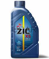 ZIC X5 10W-40 LPG моторное масло для двигателей на газу, 1 л (132666)