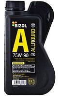 Bizol B87220 Allround Gear Oil TDL 75W-90 GL-4/GL-5 трансмиссионное масло, 1 л