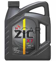 ZIC X7 LS 10W-40 синтетическое моторное масло, 4 л (162652)