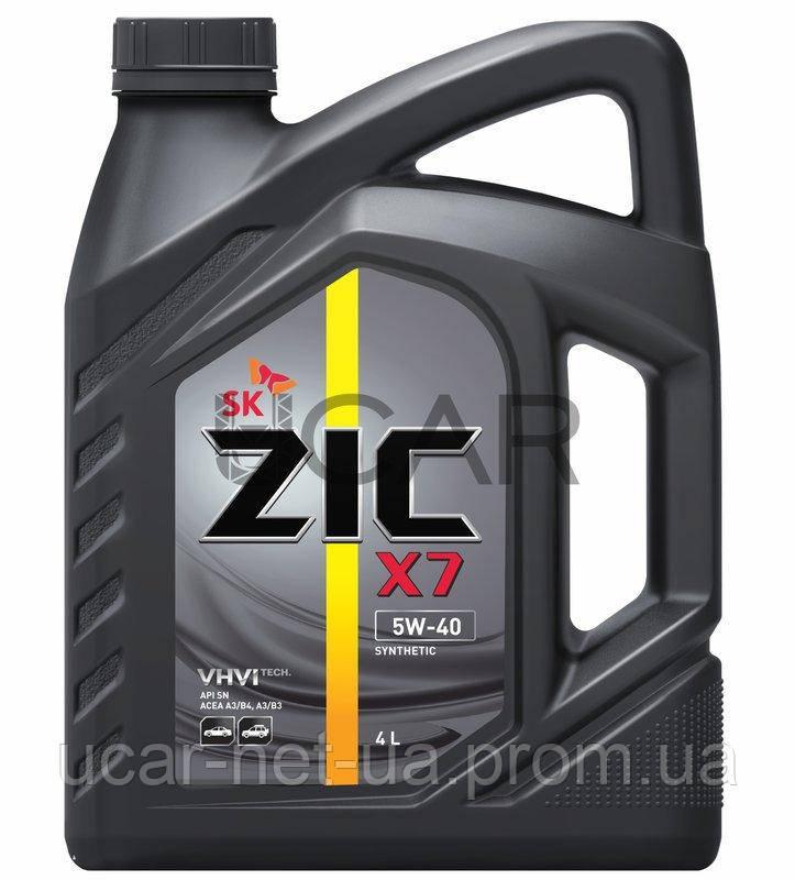 11788a3c830 ZIC X7 5W-40 синтетическое моторное масло