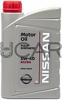 Nissan Motor Oil 5W-40 синтетическое моторное масло, 1 л (KE900-90032)