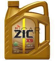 ZIC X9 LS 5W-40 Diesel дизельное моторное масло, 4 л (162609)