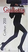 Чорні колготки Котон 200 Giulietta