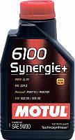 Motul 6100 Synergie+ SAE 5W-30 синтетическое моторное масло, 1 л