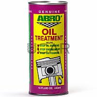 Abro AB-500 Oil Treatment присадка в масло, 443 мл