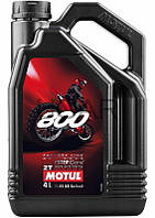 Motul 800 2T Factory Line Off Road эстеровое моторное масло, 4 л (837141)