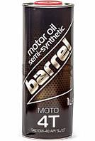 Barrel Moto 4T 10W-40 моторное масло для мототехники, 1 л