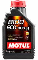 Motul 8100 ECO-nergy SAE 5W-30 синт. моторное масло, 1 л (812301)