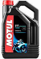 Motul 100 2T моторное масло для 2-х тактных двигателей, 4 л