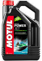 Motul Powerjet 2T моторное масло для лодочных моторов, 4 л (828007)