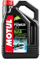 Motul Powerjet 4T SAE 10W40 масло для лодочных моторов, 4 л (828107)