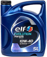 ELF Evolution 700 STI 10W-40 полусинтетическое моторное масло, 5 л
