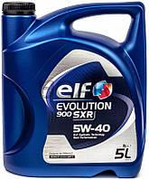 ELF Evolution 900 SXR 5W-40 синтетическое моторное масло, 5 л