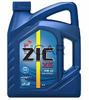 ZIC X5 10W-40 LPG моторное масло для двигателей на газу, 4 л