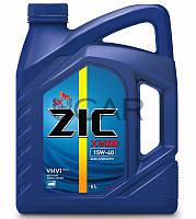 ZIC X5000 15W-40 дизельное моторное масло, 6 л