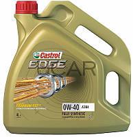 Castrol Edge 0W-40 A3/B4 синтетическое моторное масло, 4 л