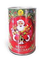 Новогодний подарок в жестяной упаковке №1 300 г.