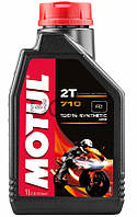 Motul 710 2T моторное масло для 2-х тактных двигателей, 1 л