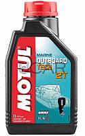 Motul Outboard Tech 2T масло для подвесных лодочных моторов, 1 л (851711)