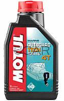 Motul Outboard Tech 4T SAE 10W40 масло для подвесных лодочных моторов, 1 л (852211)