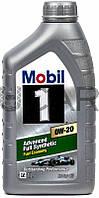 Mobil 1 Advanced Fuel Economy 0W-20 синтетическое моторное масло, 1 л