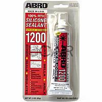 Abro SS-1200CL Silicone Sealant герметик стекол прозрачный, 85 г