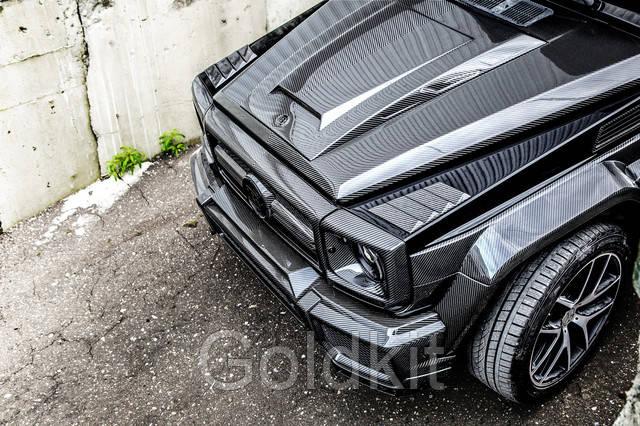 Карбоновый обвес Brabus Widestar g800 на Мерседес G500 G55 G63 G65 g-class W463 2017