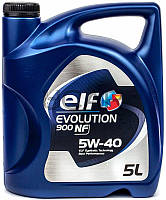 ELF Evolution 900 NF 5W-40 синтетическое моторное масло, 5 л
