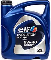 ELF Evolution 900 NF 5W-40 синтетическое моторное масло, 4 л