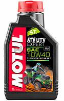 Motul ATV-UTV Expert 4T SAE 10W40 моторное масло для квадроциклов, 1 л