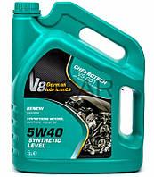 V8 5W40 Synthetic Level SM/CF синтетическое моторное масло, 5 л
