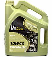 V8 10W40 Premium SL/CF полусинтетическое моторное масло, 5 л