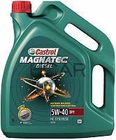 Castrol Magnatec Diesel 5W-40 DPF дизельное моторное масло, 5 л (375)