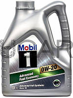 Mobil 1 Advanced Fuel Economy 0W-20 синтетическое моторное масло, 4 л