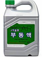 Hyundai Long Life Coolant зеленый антифриз концентрат, 4 л