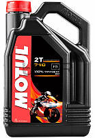 Motul 710 2T моторное масло для 2-х тактных двигателей, 4 л
