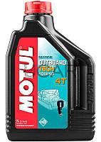 Motul Outboard Tech 4T SAE 10W40 масло для подвесных лодочных моторов, 2 л (852221)