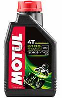 Motul 5100 4T SAE 10W50 моторное масло для мототехники, 1 л (836811)
