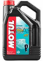 Motul Outboard Tech 4T SAE 10W40 масло для подвесных лодочных моторов, 5 л (852251)
