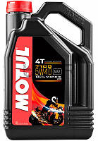 Motul 7100 4T SAE 5W40 моторное масло для мототехники, 4 л