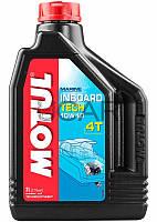 Motul Inboard Tech 4T SAE 10W40 масло для стационарных лодочных моторов, 2 л (852321)