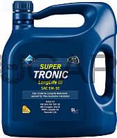 Aral Super Tronic Longlife III 5W-30 синтетическое моторное масло, 5 л