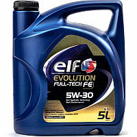 ELF Evolution Full-Tech FE 5W-30 (RN0720) синтетическое моторное масло, 5 л