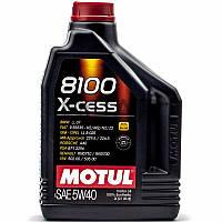 Motul 8100 X-cess SAE 5W-40 синтетическое моторное масло, 2 л