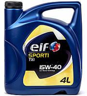 ELF Sporti TXI 15W-40 минеральное моторное масло, 4 л