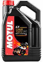 Motul 7100 4T SAE 10W50 моторное масло для мототехники, 4 л (838141)