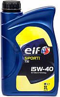 ELF Sporti TXI 15W-40 минеральное моторное масло, 1 л