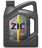 ZIC X7 5W-30 Diesel дизельное моторное масло, 6 л